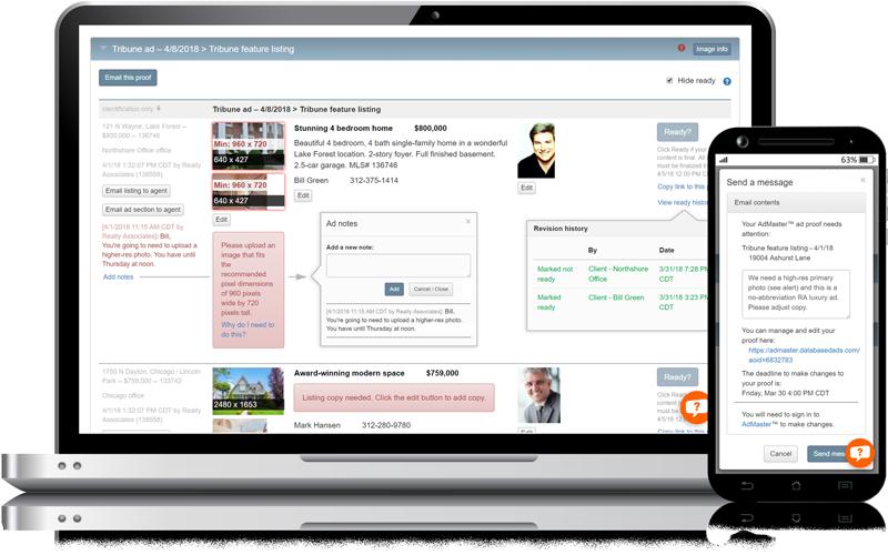 Admaster - Ad proof management tools