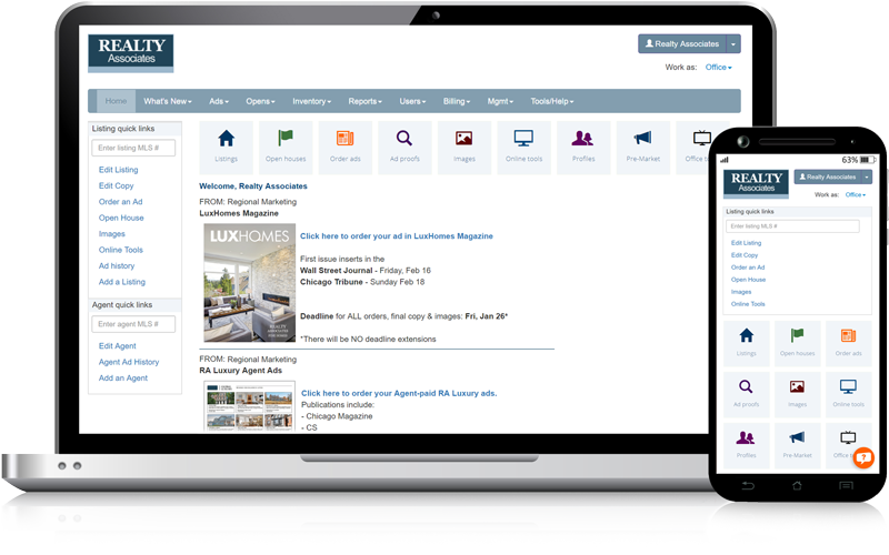 Admaster Home Page