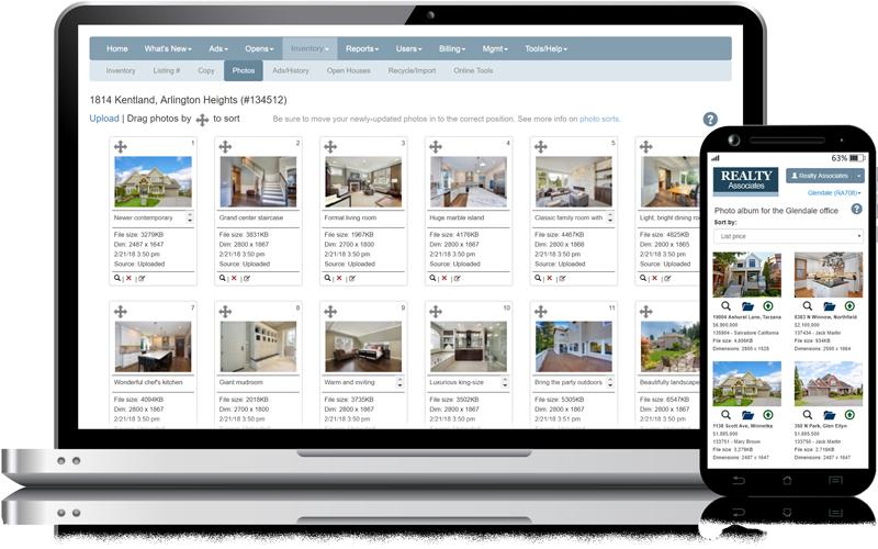 Admaster - Real estate image management