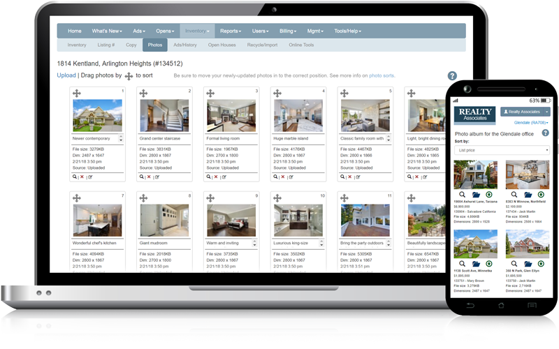 Admaster - Real estate image management