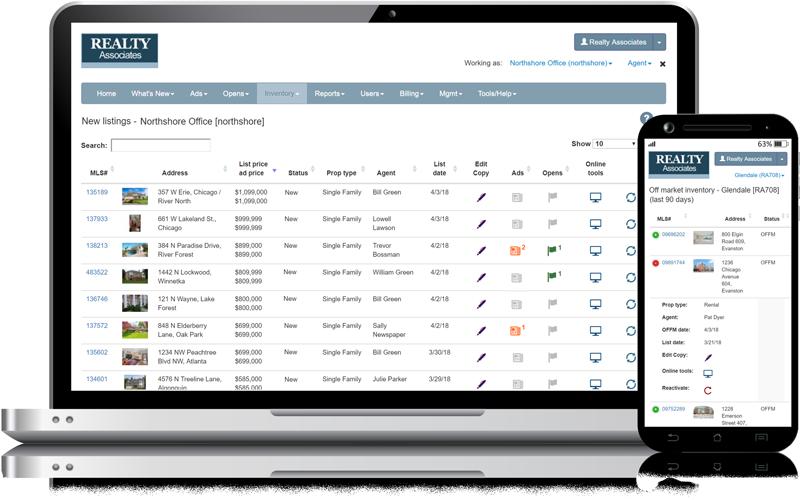 Admaster - Data integration - New listings, off-market listings