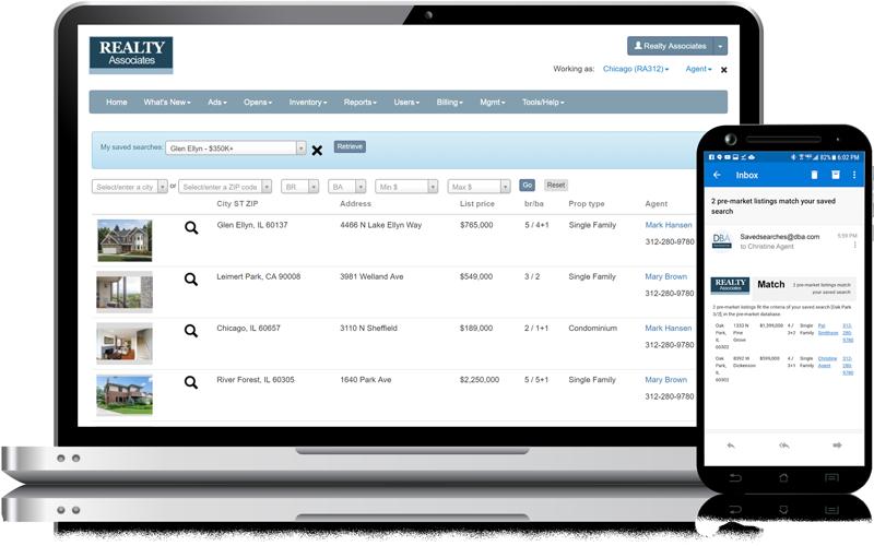 Admaster - Pre-market database - Coming soon listings