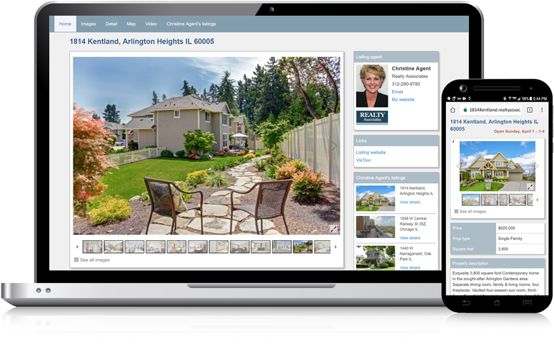 Admaster - Single property websites