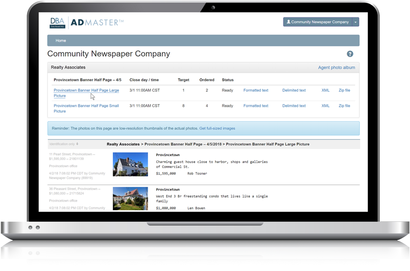 Admaster - Publisher access - no-cost production