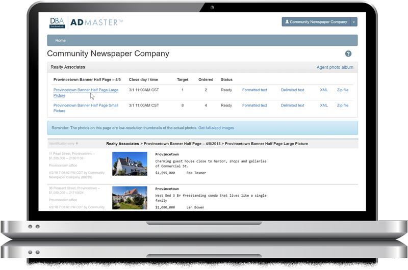 Admaster publishing - Publisher access, vendors