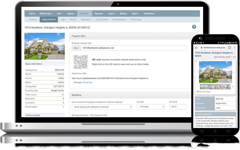 Admaster - Print web reference, subdomain URL