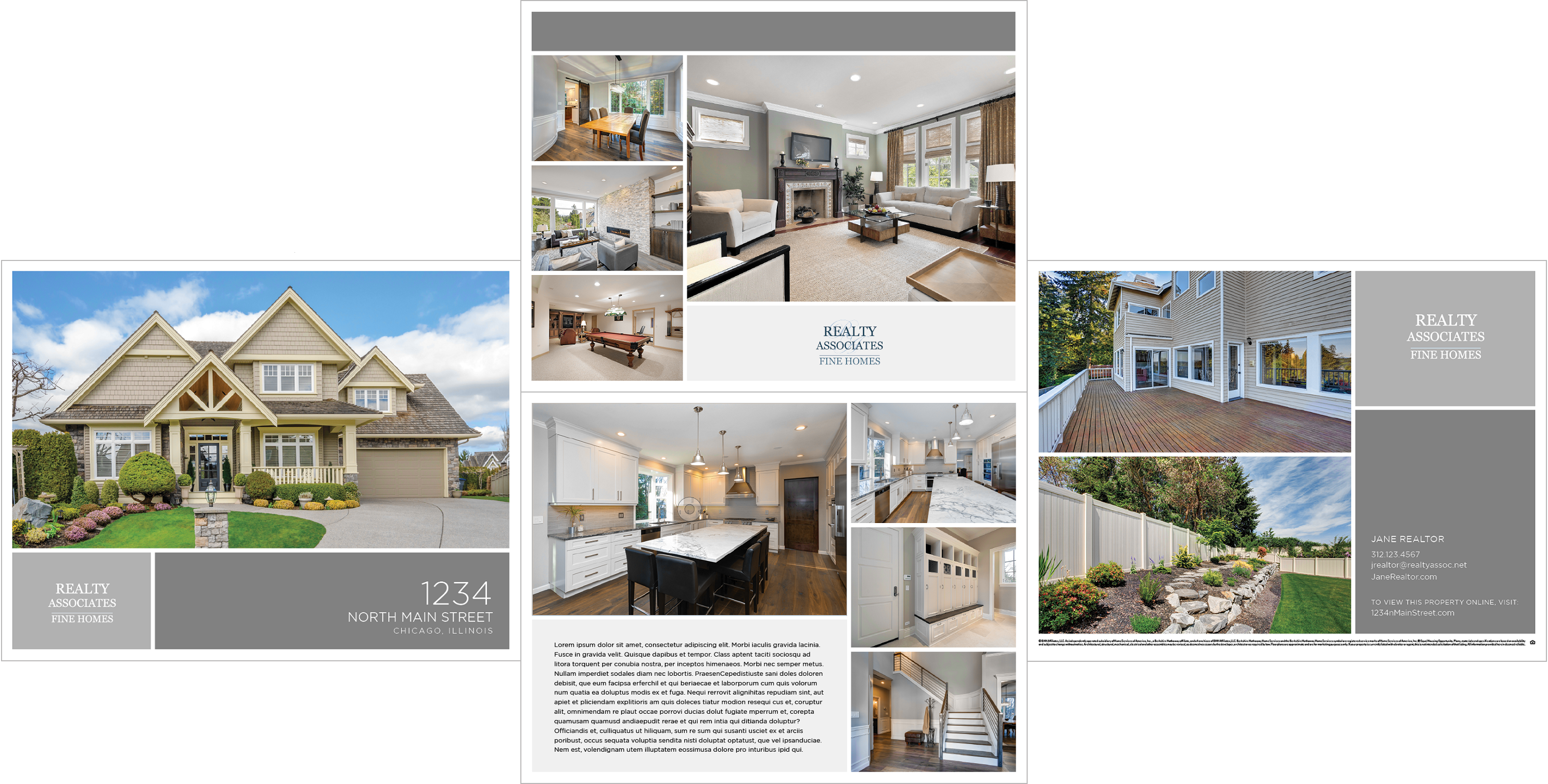 Property brochure | Automated listing flyer | Real estate
